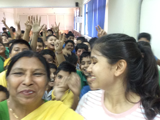 Sowing Seeds of Compassion at CRPF School, Dwarka