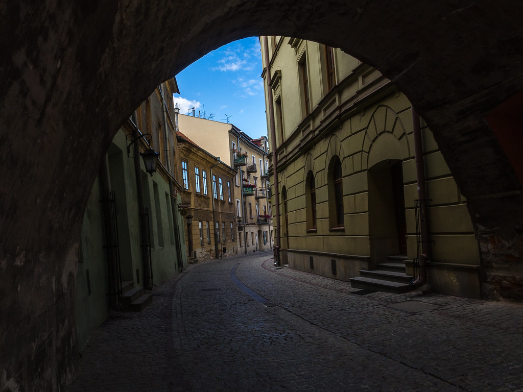 Lublin. Old city