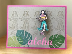 Aloha V5 (interactive with action wobble)