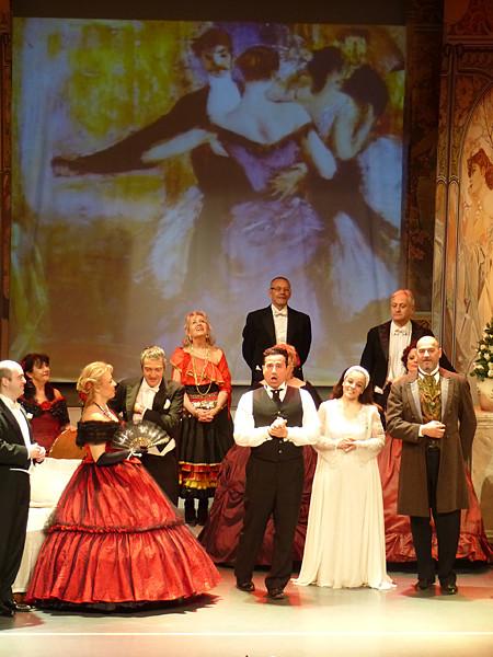 fin de la traviata