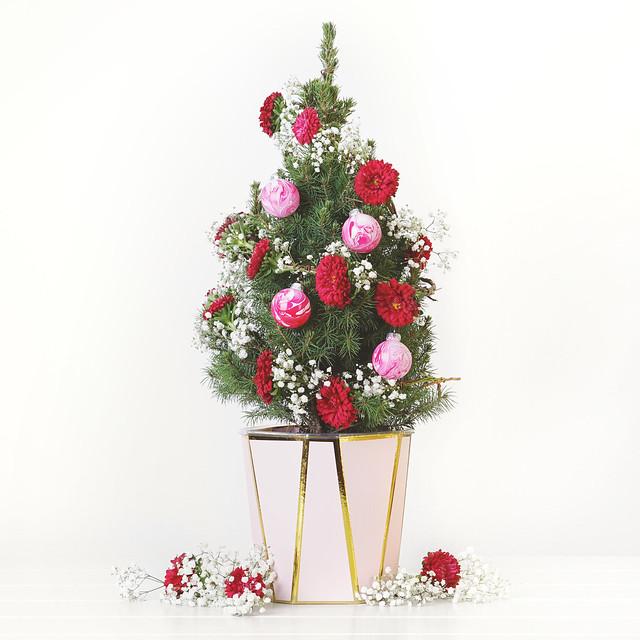 Floral Garland Tree
