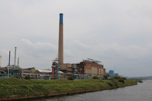 23rd June 2019. Rocksavage Oil Refinery on the Manchester Ship Canal at Weston Point, Runcorn, Cheshire.