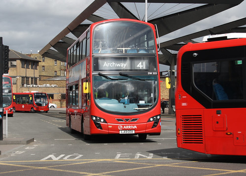 Arriva London DW553 LJ13CEA