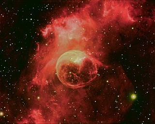 NGC 7635 narrowband