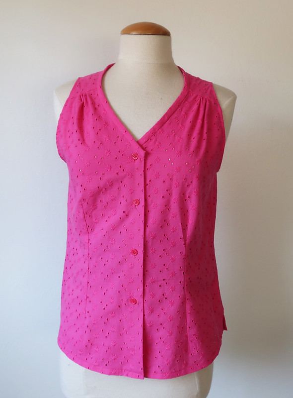 eyelet top pink 2 on form