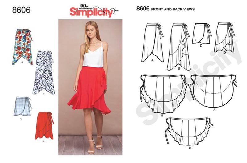 Simplicity pattern 8606
