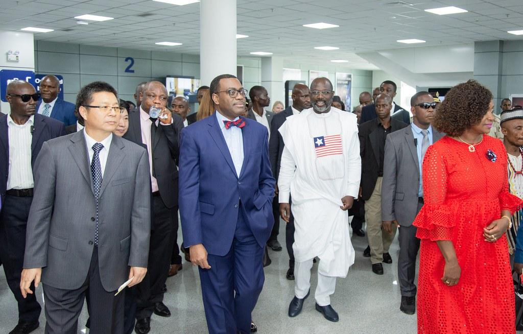 Dedicate Roberts International Airport (RIA),new passenger Terminal ,Liberia.