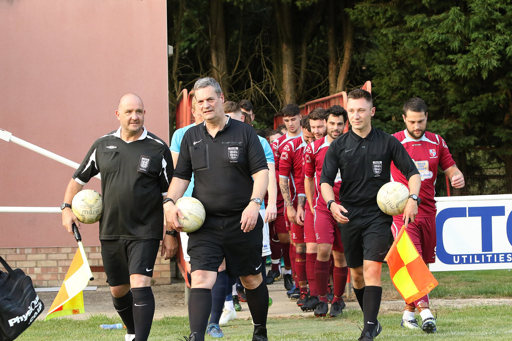Buckingham Athletic v Crawley Green PSF