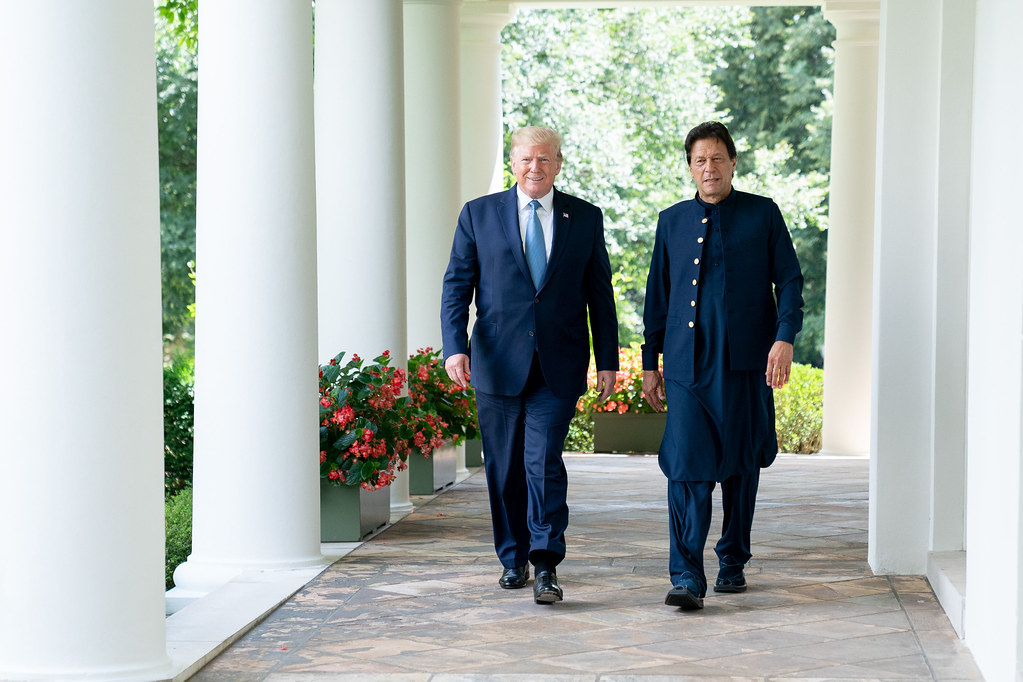 President Trump Meets with the Prime Minister of Pakistan | Flickr