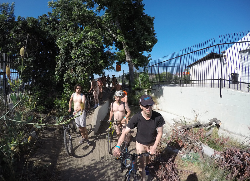 LA World Naked Bike Ride 2019 (163037A)