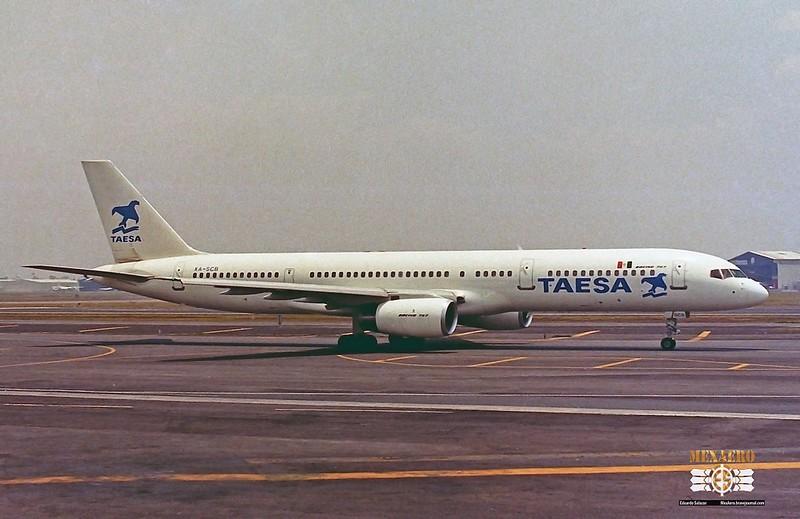 TAESA / Boeing 757-2Y0 / XA-SCB
