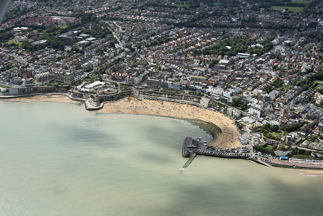 Broadstairs aerial image