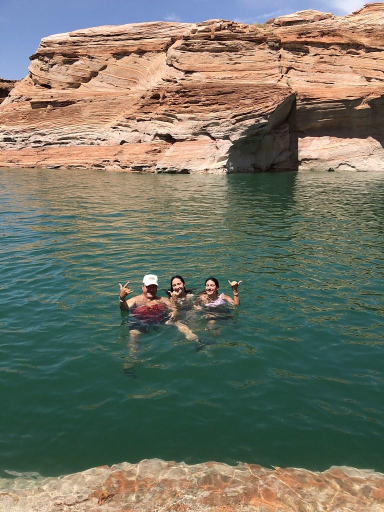 2019 07 23 Antelope Slot Canyon Kayak Morning Tour Lake