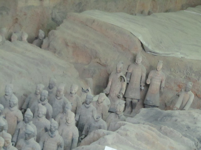 the Terracotta Army (fragment)