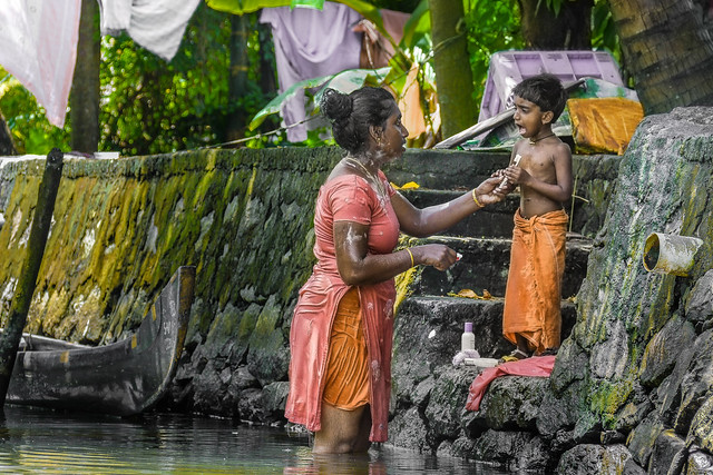 Inde - Backwater - Kerala /  केरल