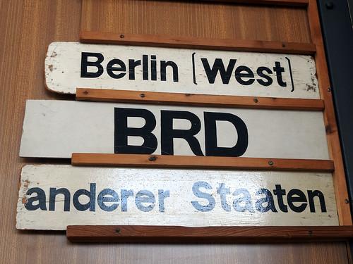 Berlino - Tranenpalast (Frontiera tra l'est e l'ovest)