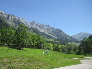 View of the Alps from the train | by NH53