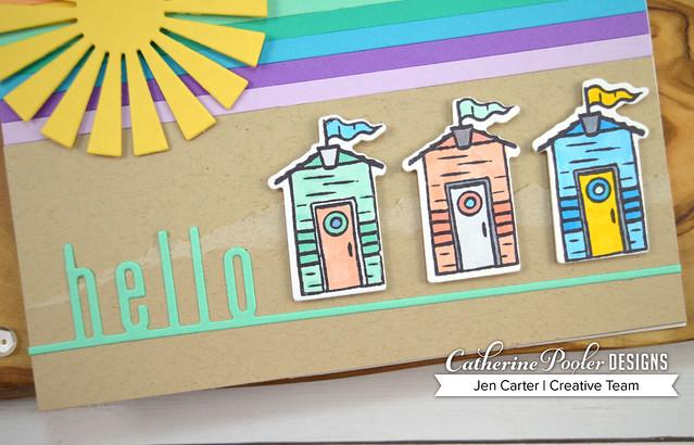 By the Sea Rainbow Houses JenCarter Closeup 1