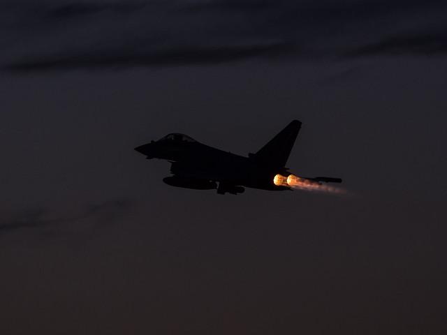 Typhoon dusk departure