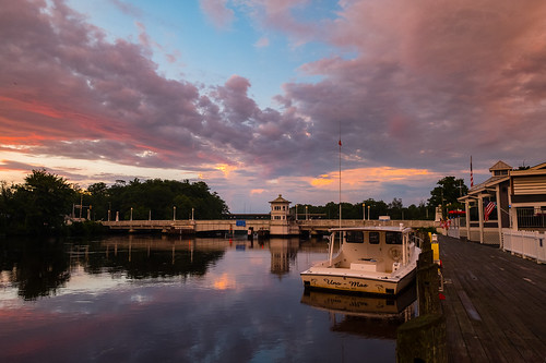 pocomokecity pocomokeriver pocomokecitybridge fuji fujifilm xt2 sunset storm evening clouds drawbridge bridge water river pocomoke reflections promenade esplanade walkway dock
