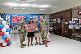 Exchange 'You Made the Grade' Sweepstakes Grand Prize Winner | by Army & Air Force Exchange Service PAO