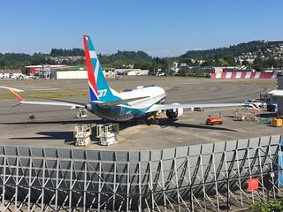 N7202U B37M 42569 6798 Southwest Airlines rudder, Boeing cls