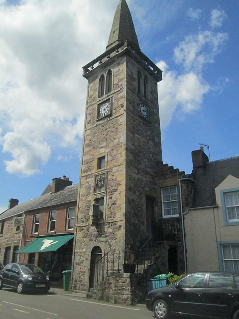 Strathmiglo Tolbooth, Fife, Scotland