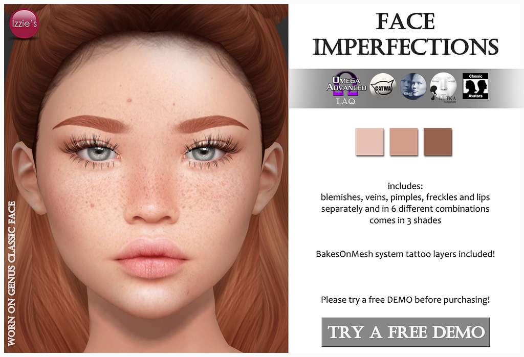 Face Imperfections for FLF