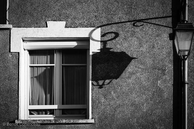 Lumière sur les vitres