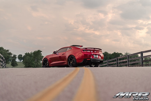 Camaro 6 Red^ M228 Wheels
