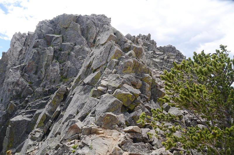 Fox Mountain summit