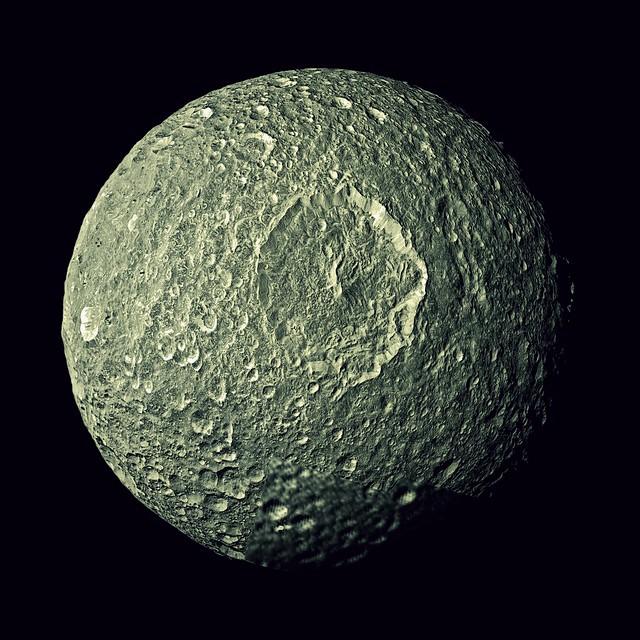 Mimas, the