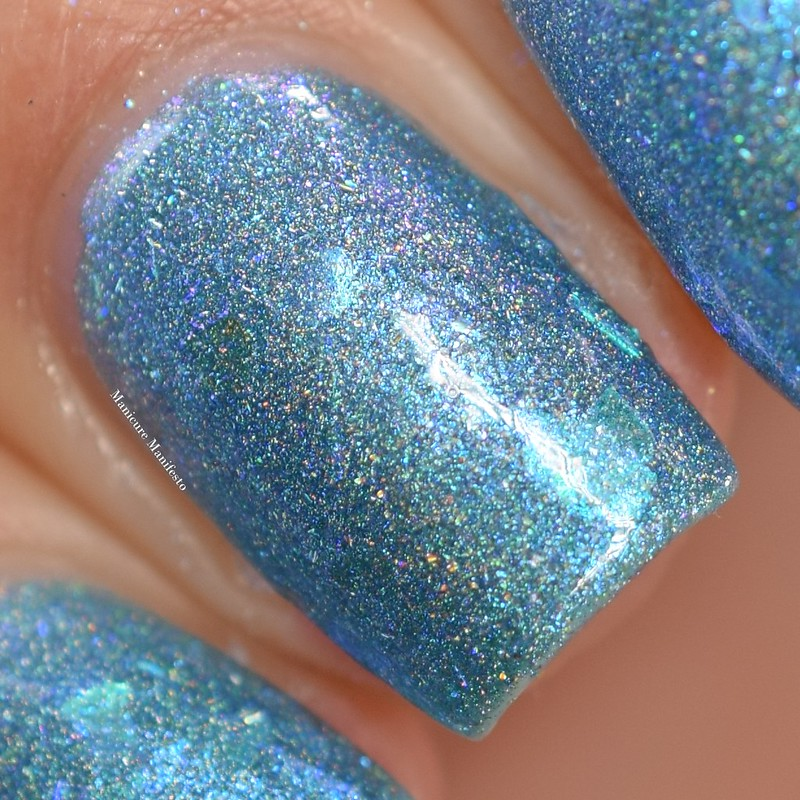 Paint It Pretty Polish Blue Jay Way swatch