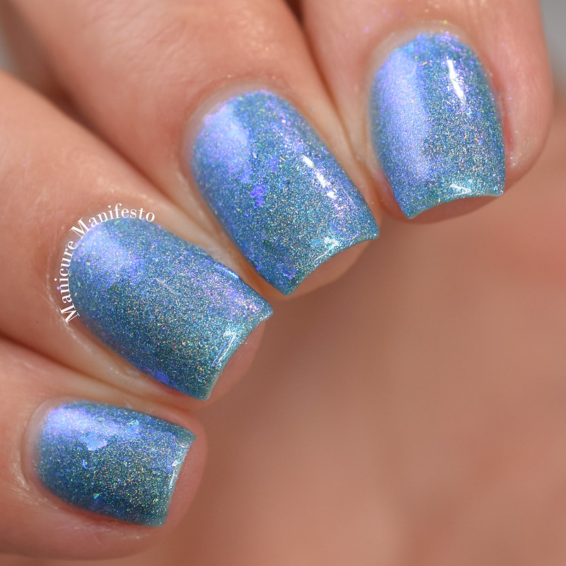 Paint It Pretty Polish Blue Jay Way review