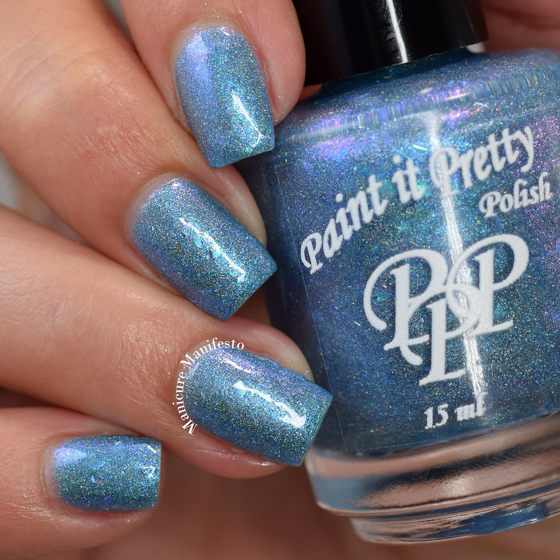 Paint It Pretty Polish Blue Jay Way