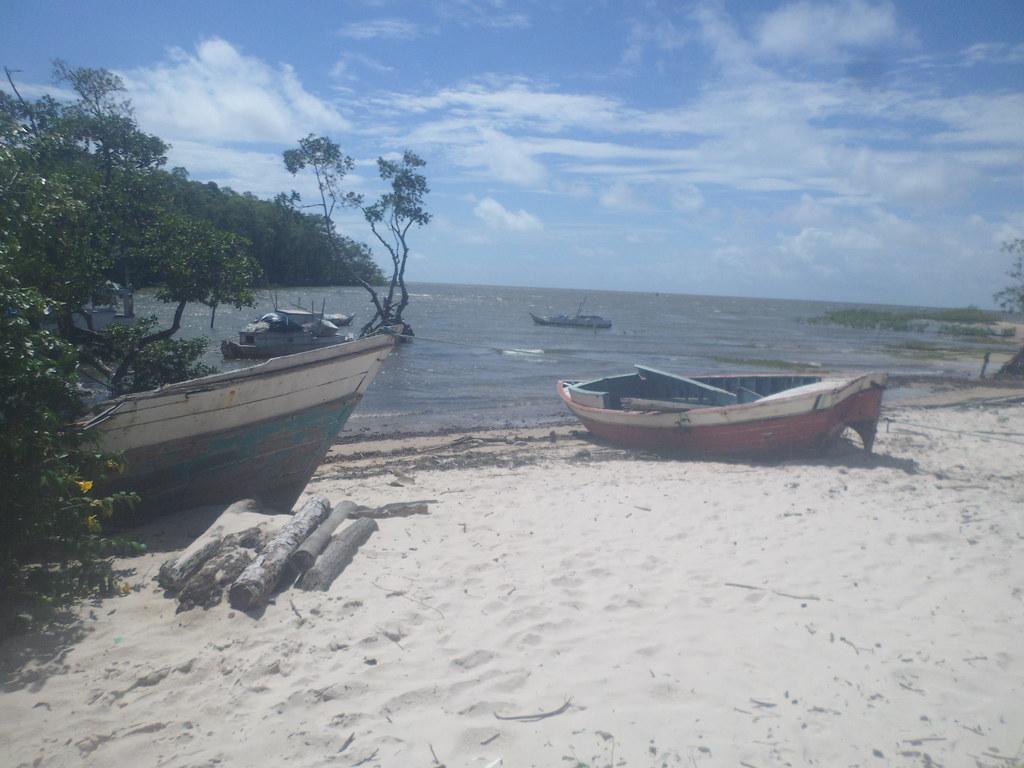 Praia da Bernarda - Ilha do Marajó