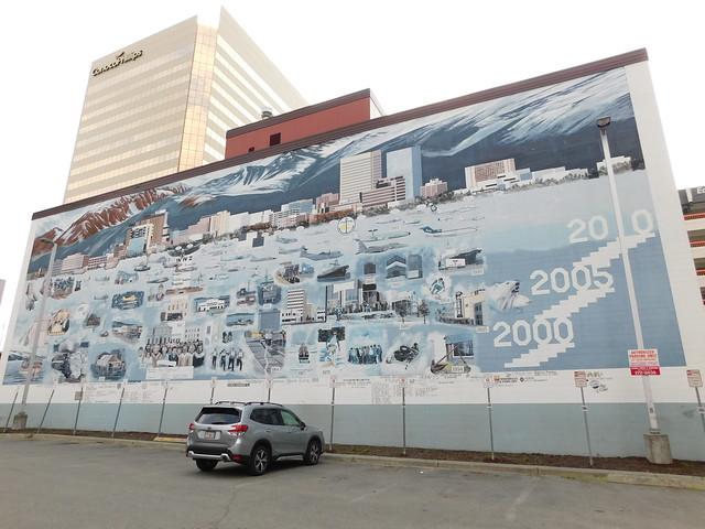 Anchorage Timeline Mural