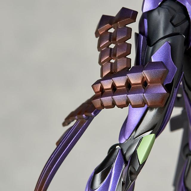 海洋堂『福音戰士與日本刀展』 轉輪科技 EVANGELION EVOLUTION 「EVA初號機 刀野薙Ver.」