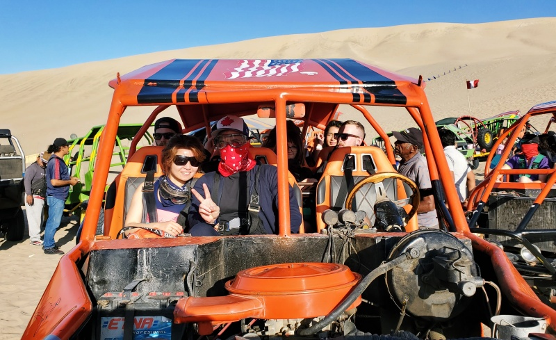 sand buggy Huacachina