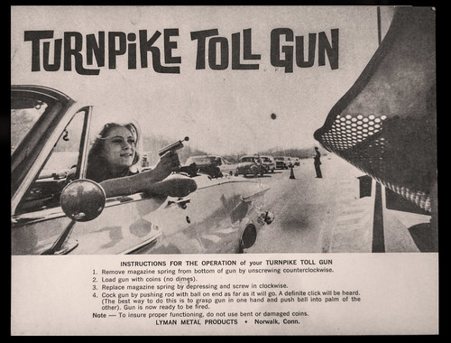 Turnpike Toll Token Gun instructions