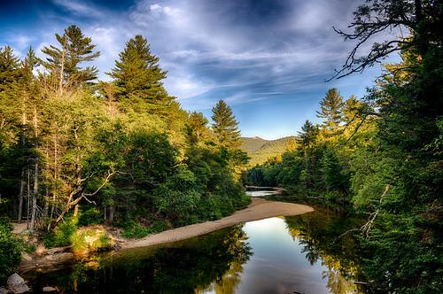 bartlett sunset river nikon unitedstatesofamerica newengland newhampshire saco hdr highdynamicrange goldenhour d850 trigphotography frankcgrace