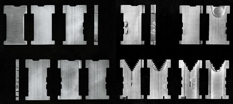 VEB Typoart's line-casting machine matrices