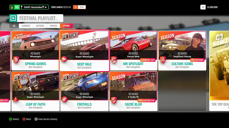 Upcoming seasonal content, cars, and features [August 29