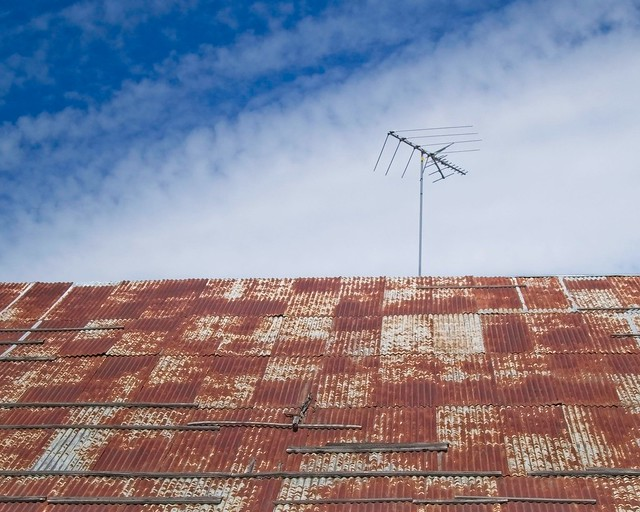 Rusty Roof Antenna 2318 B