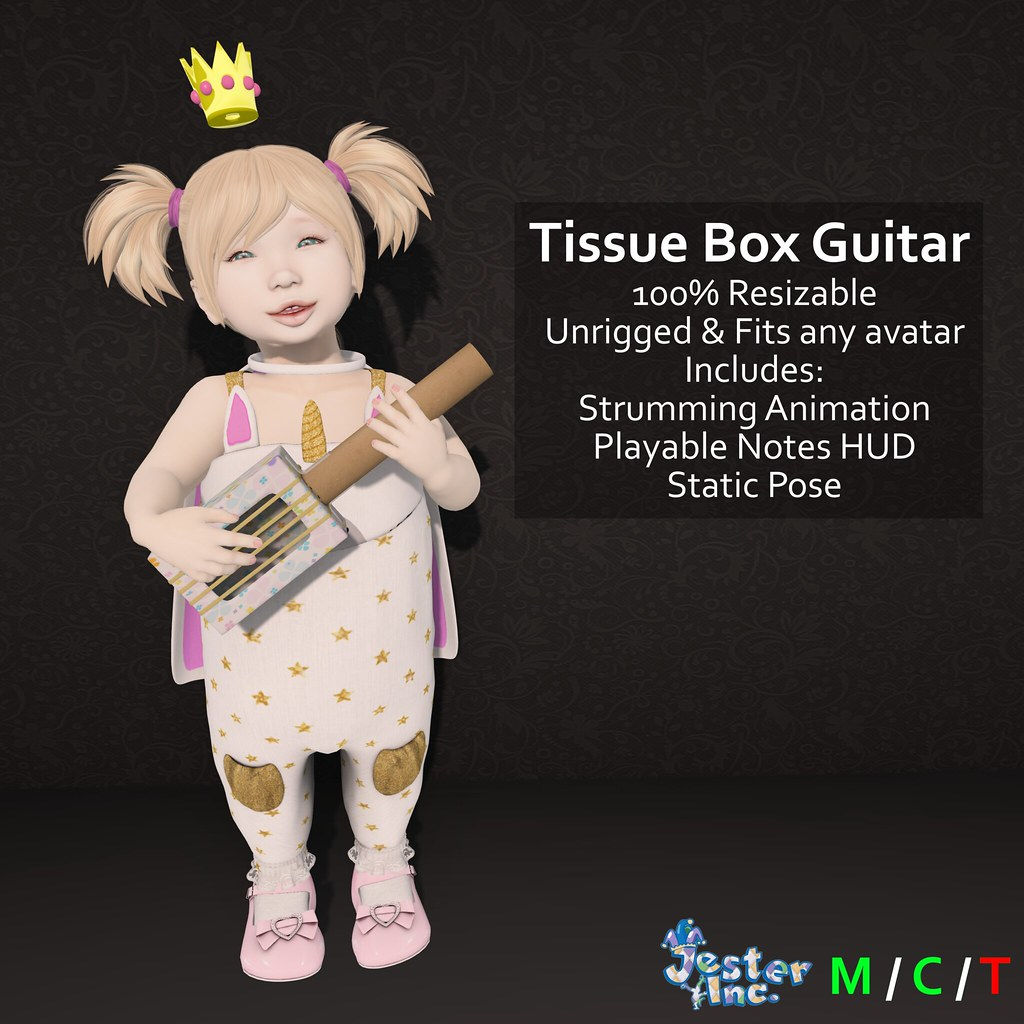 Presenting the new Tissue Box Guitar from Jester Inc.