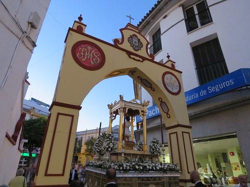 Corpus de Sanlúcar la Mayor. Nuevos pasos.