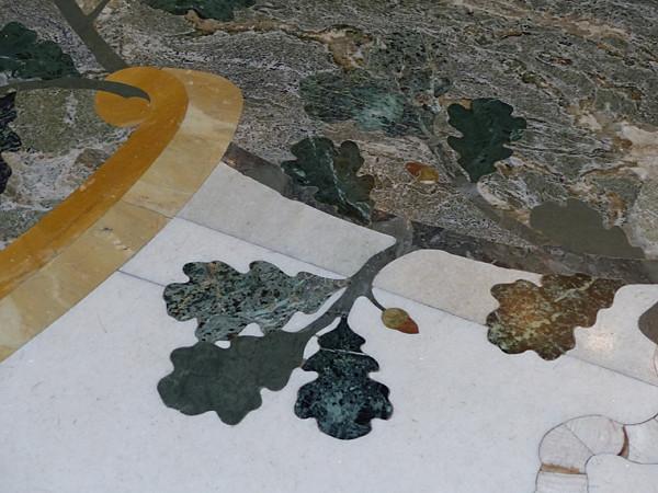 feuille en marbre