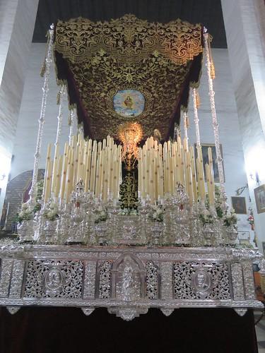 Pasos de Palio de Sevilla. Martes Santo