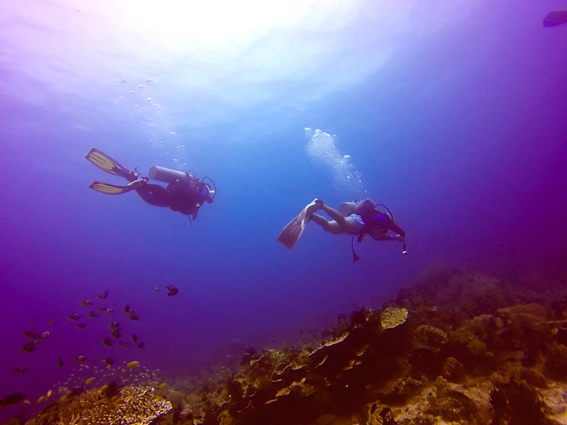 Scuba diving in Camiguin
