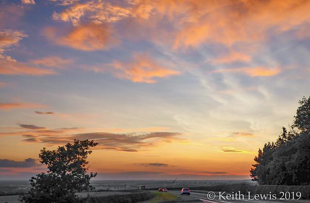 Arras Hill Sunset  # 1